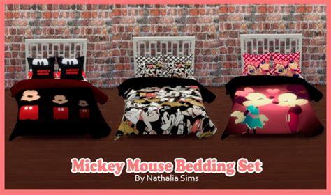 mickey bedding set  nathalia sims sims  updates