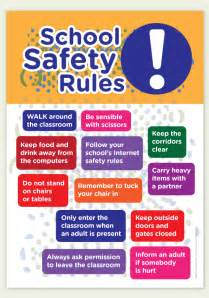 School Safety Rules for Students