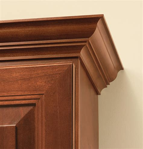 crown moulding for kitchen cabinets cabinet crown molding the finishing touch 8514