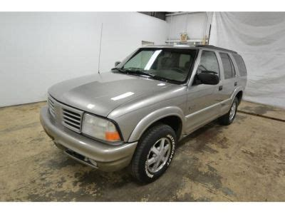 how things work cars 1999 oldsmobile bravada spare parts catalogs buy 1999 oldsmobile bravada awd93 287 suv pewter beige 6808 1ghdt13w0x2718123 gasoline 4 3l v6