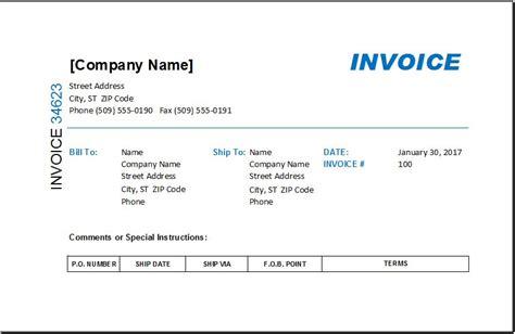 contoh invoice rental virallah
