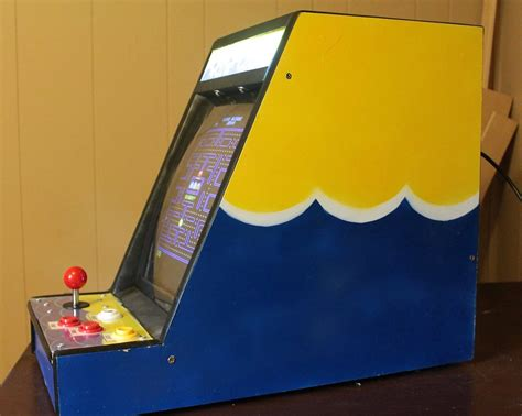 Mini Mame Arcade Cabinet Kit by Mini Mame Cabinet Hacked Gadgets Diy Tech