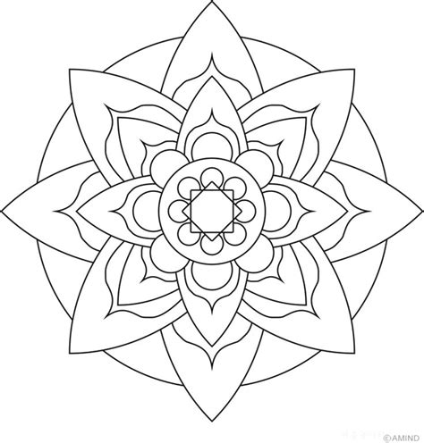 coloring pages mandelas zentangles images