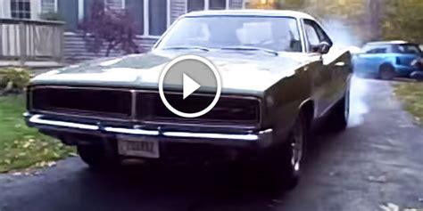 Exotic Monster 1969 (650hp+) Dodge Charger Burnout!