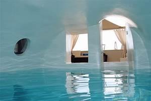 Santorin Hotel Luxe : location villa de luxe santorin avec piscine chauff e int rieure ~ Medecine-chirurgie-esthetiques.com Avis de Voitures