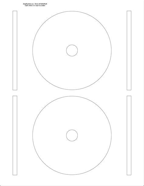 cd label template hub printable