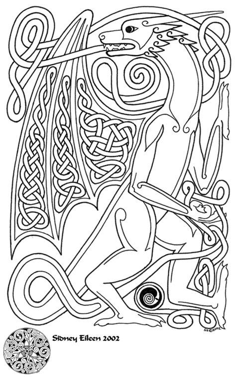 Knotwork Dragon by sidneyeileen on DeviantArt