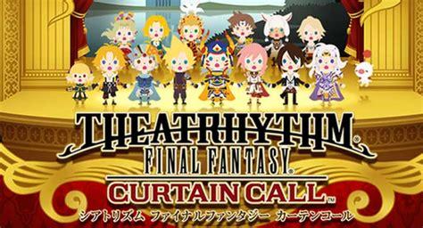 theatrhythm final fantasy curtain call gets second dlc