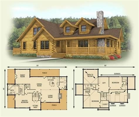 log cabin home floor plans amazing log cabin floor plans with loft new home plans