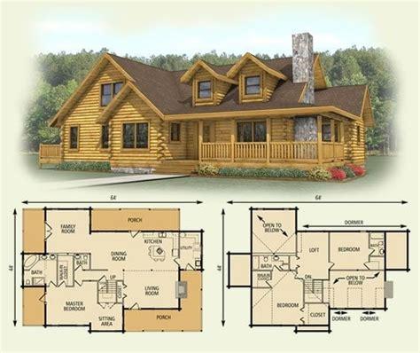 amazing log cabin floor plans  loft  home plans