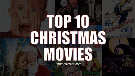 top 10 christmas movies youtube
