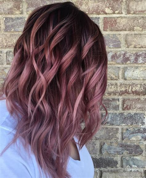Different Color Hair by Best 25 Different Hair Colors Ideas On Dyed