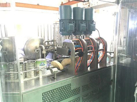 map  seamer  vacuum  nitrogen flushing