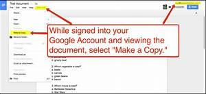 Free technology for teachers how to make copies of google for Create a google shared document