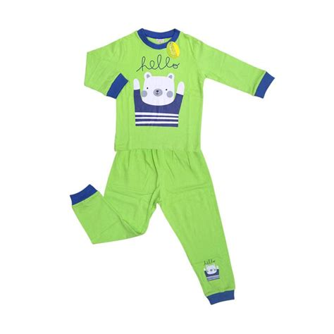 jual amaris fashion  baju tidur piyama anak laki laki