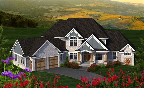 bed house plan angled garage ah st floor master suite butler walk pantry