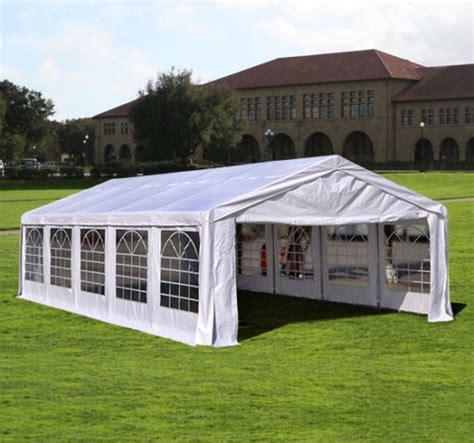 heavy duty white party tent canopy gazebo
