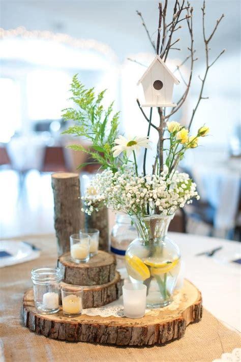 decoration de table mariage en  idees pour la table ronde