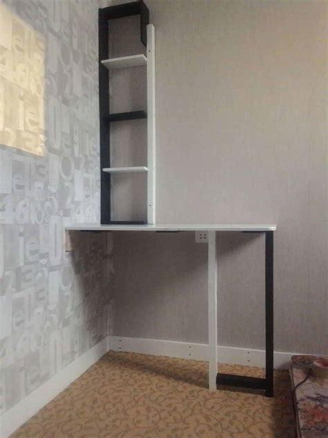 pallet corner desk  shelf  bedroom  pallets