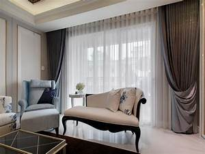 The Modern Living Room Curtains Designs LIVING ROOM