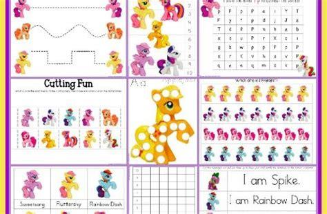 pony printable pack educational pinterest