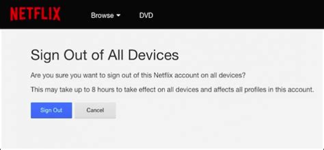 How To Log Out Of Your Netflix Account On Every Device