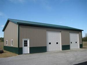 Garages and pole barns amish contractor for Amish pole barn prices