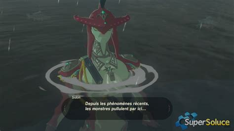 Vers Le Domaine Zora  Soluce The Legend Of Zelda Breath