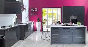comment accorder les couleurs de sa cuisine trouver With quelle couleur associer avec du gris 14 cuisine rouge mur couleur