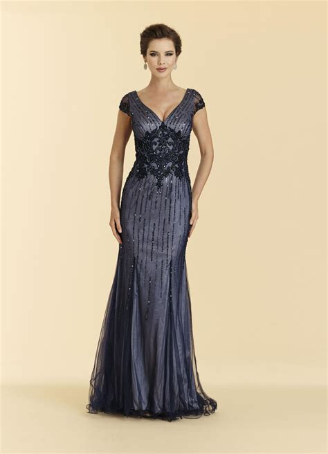 rina  montella  cap sleeve lace gown french novelty