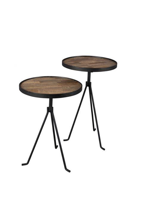 set of 2 table ls tides side table set of 2 dutchbone