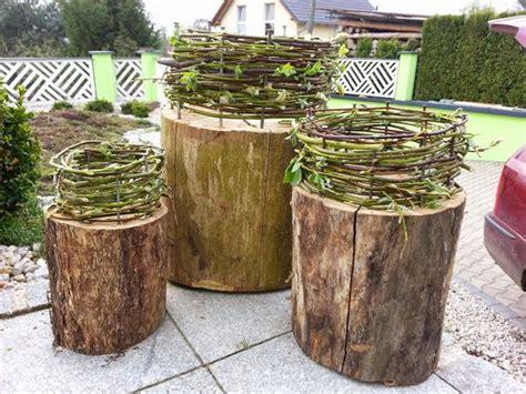 Herbstdeko Holz Garten by Herbstdeko F 252 R Den Garten Selber Machen Nowaday Garden