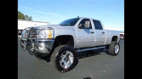 chevy silverado hd diesel lifted truck  sale