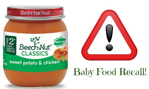 beechnut baby food recall beech nut baby food recall for potential glass pieces notes