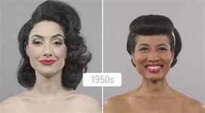 Coiffure Des Années 50 : histoire des coiffures sur cheveux europ ens et afros de 1910 nos jours cheveux boucl s ~ Melissatoandfro.com Idées de Décoration