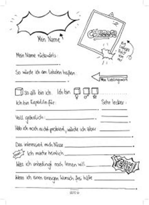 seite  steckbrief kinderfreunde freundschaftsbuch