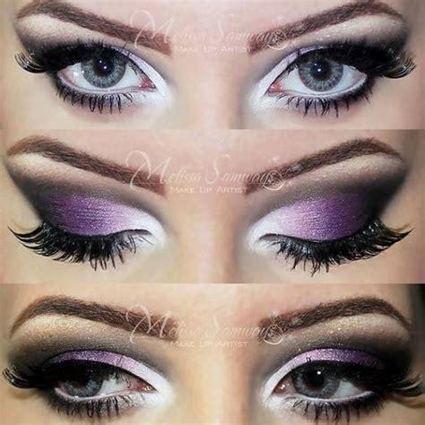 purple makeup  mel  preenme