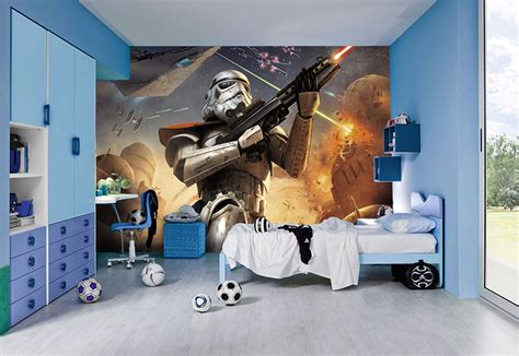 deco chambre disney wars wall murals