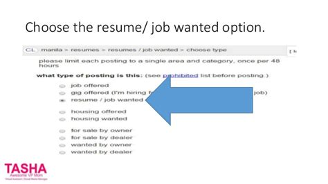 Should I Post My Resume On Craigslist by How To Put Your Resume On Craigslist