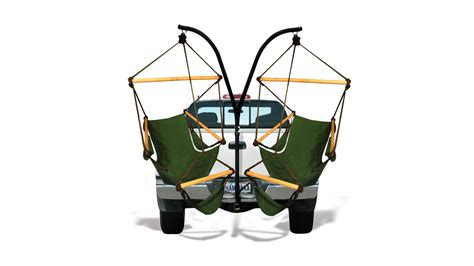 Trailer Hitch Hammock Chairs by Desire This Trailer Hitch Stand And Hammock Chair Combo