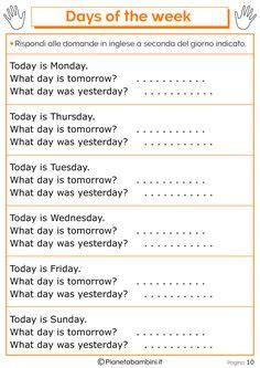 days   week  images english lessons  kids