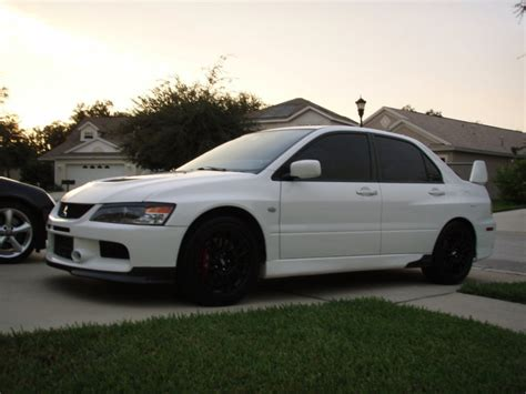 Mitsubishi Lancer Evo 9 For Sale by For Sale 2006 White Evo 9 Mr 25 500 Evolutionm