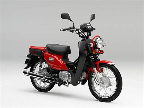 honda cross cub trademarked in india might launch in near