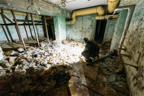 When the firefighters came to pripyat hospital the nurses threw all their protective. Day Four
