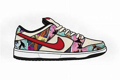 Nike Shoe Sb Converse Clipart Sneakers Sneaker