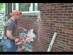 Installing New Exterior Door In Existing Frame by Patio Door Installation YouTube