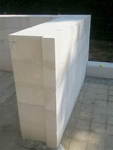 Prix du beton cellulaire au m2 for Mur exterieur beton cellulaire