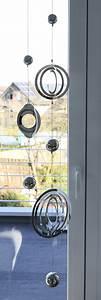 Fensterdeko Zum Hängen : mobile girlande balls edelstahl zwei 3d elementen ~ Watch28wear.com Haus und Dekorationen