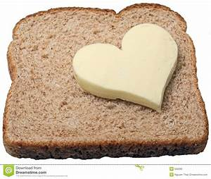 Butter loves bread. stock photo. Image of flour, brown ...
