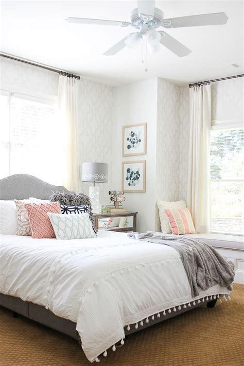 incredible bedroom transformation airy bedroom